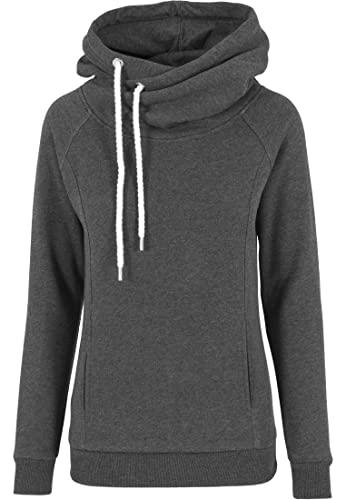Urban Classics Pullover Raglan High Neck Hoody-suéter Mujer