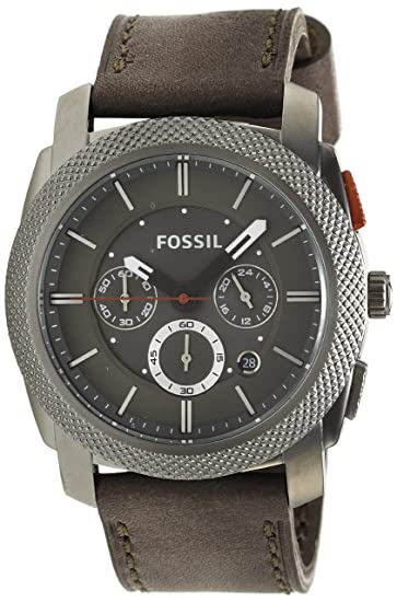 db157d3f2363 Fossil Machine FS4777 - Reloj analógico de cuarzo para hombre ...