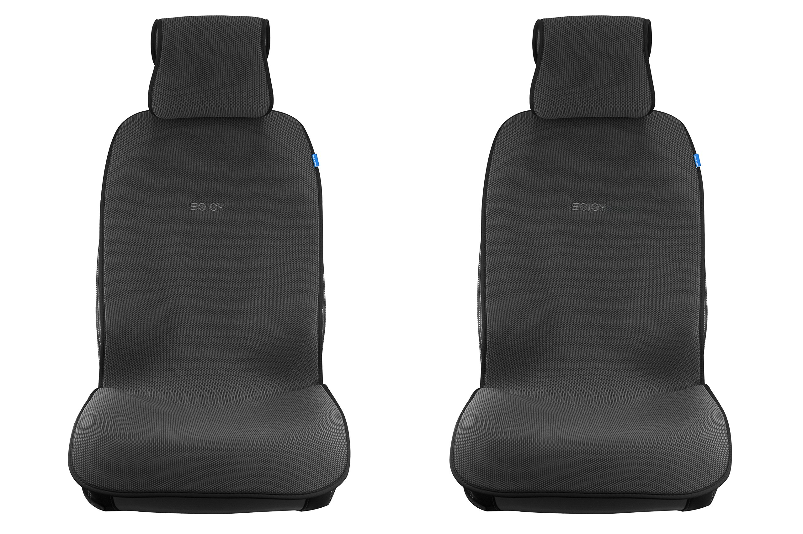 Sojoy Summer Cooling Four Seasons Car Seat Cushions For Front Two Seats Comes With 2 Pieces