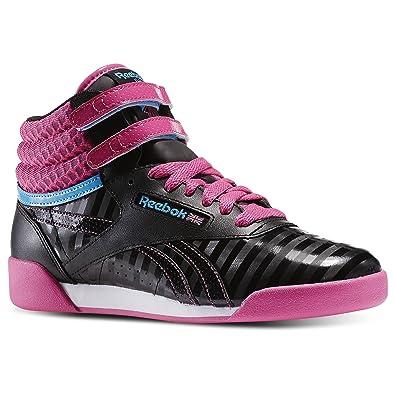 875592ed6a7 Reebok Freestyle Hi (Kids) Black