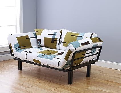 Attirant Kodiak Best Futon Lounger Sit Lounge Sleep Smaller Size Furniture Is  Perfect For College Dorm Bedroom