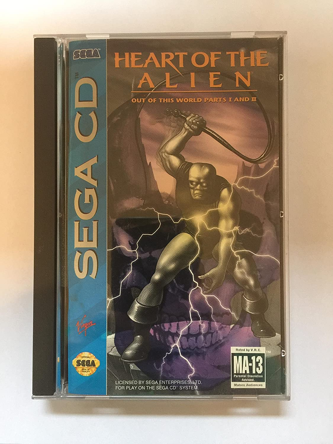 Heart Of The Alien - Out Of This World Parts 1 & 2 (Sega CD)