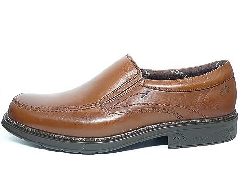 Zapatos hombre tipo mocasín FLUCHOS - Piel color Marron - 9483 - 81: Amazon.es: Zapatos y complementos