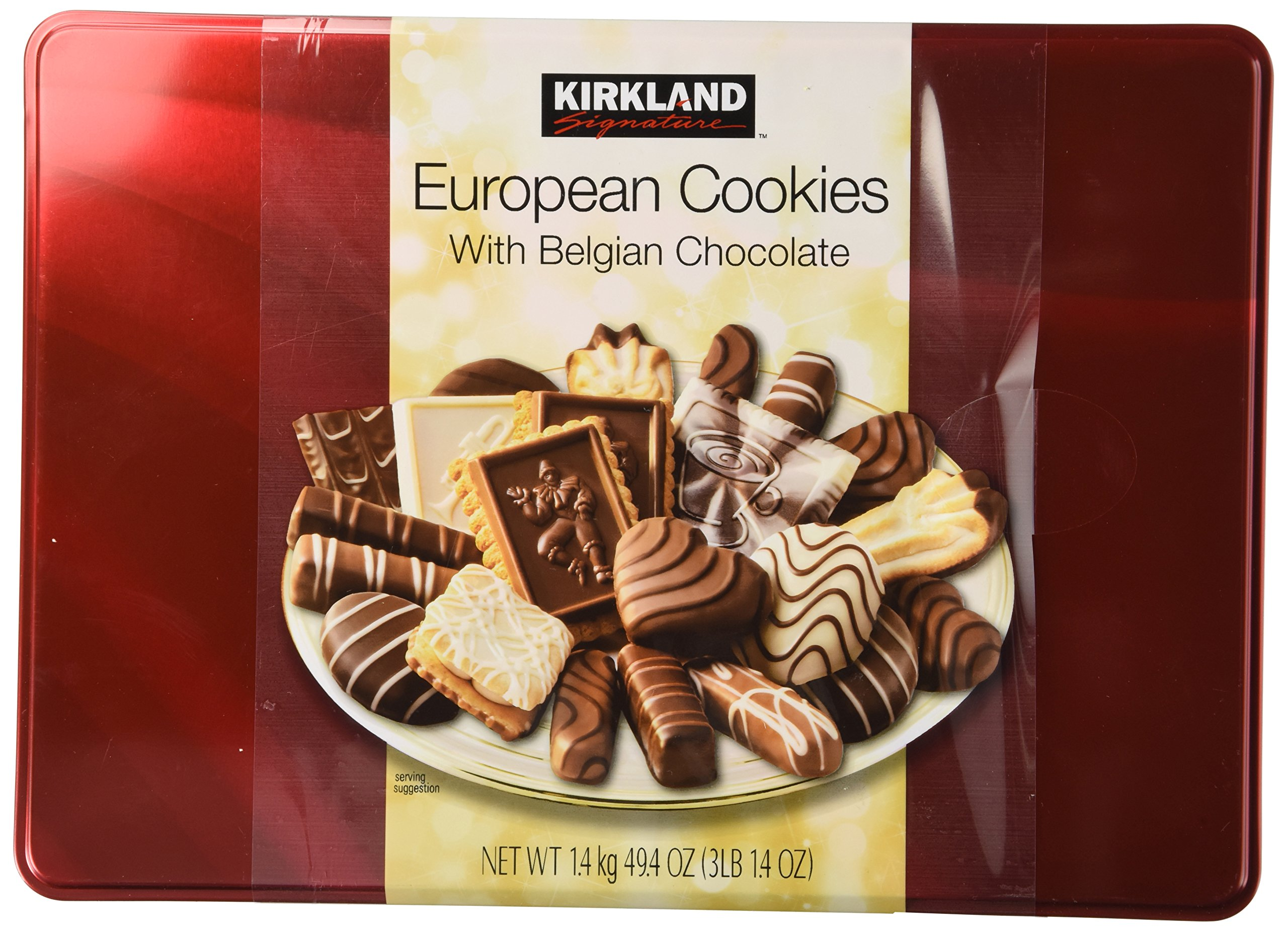 Cos Sl Kirkland European Cookies With Belgian Chocolate 15 Variety