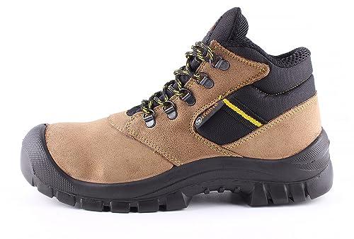 Atletic Ankle S1® - Botas de Seguridad para Trabajo - Ante - Puntera de Acero