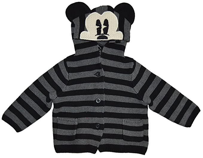 c9c647e9164b Amazon.com  BabyGap Baby Gap Disney Mickey Mouse Black Garter Hoody ...