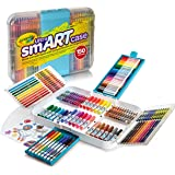 Crayola Ultra Smart Case, Art Tool Kit, Organizer, Drawing Kit, Great Gift , Includes Crayons, Pencils and Markers, Storage