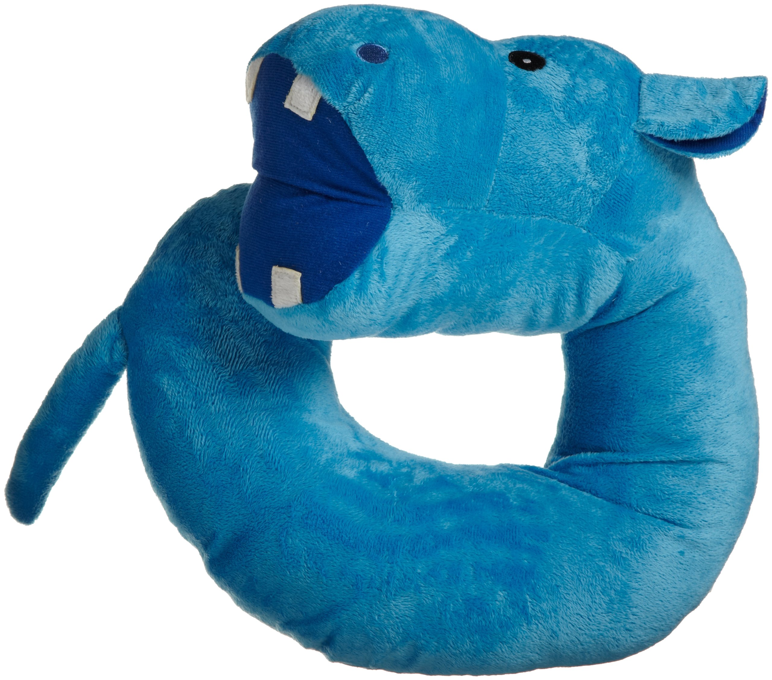 Northpoint Animal Character Travel Pillow, Harvey the Hippo