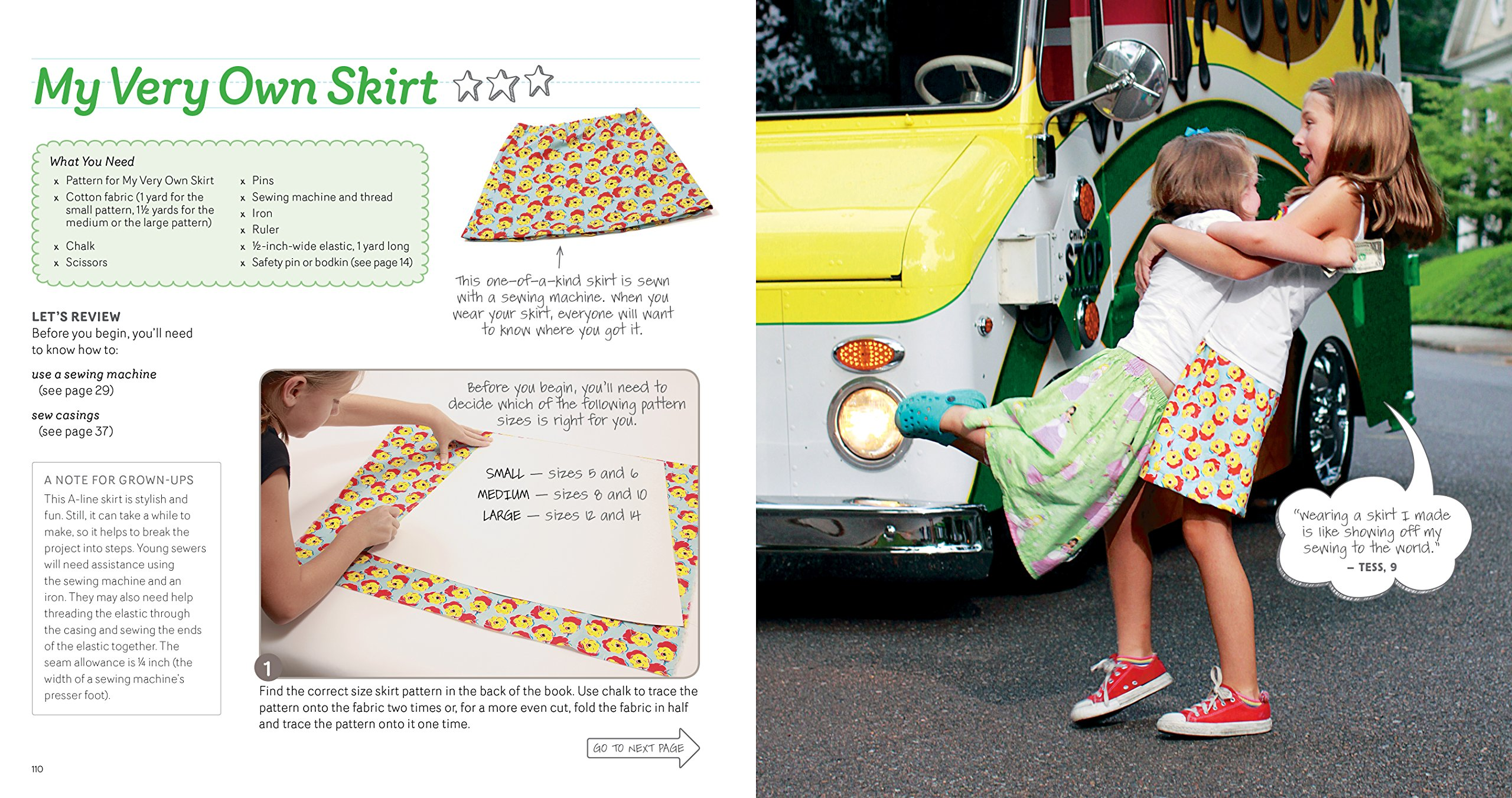 Sewing School ®: 21 Sewing Projects Kids Will Love to Make by Storey Books