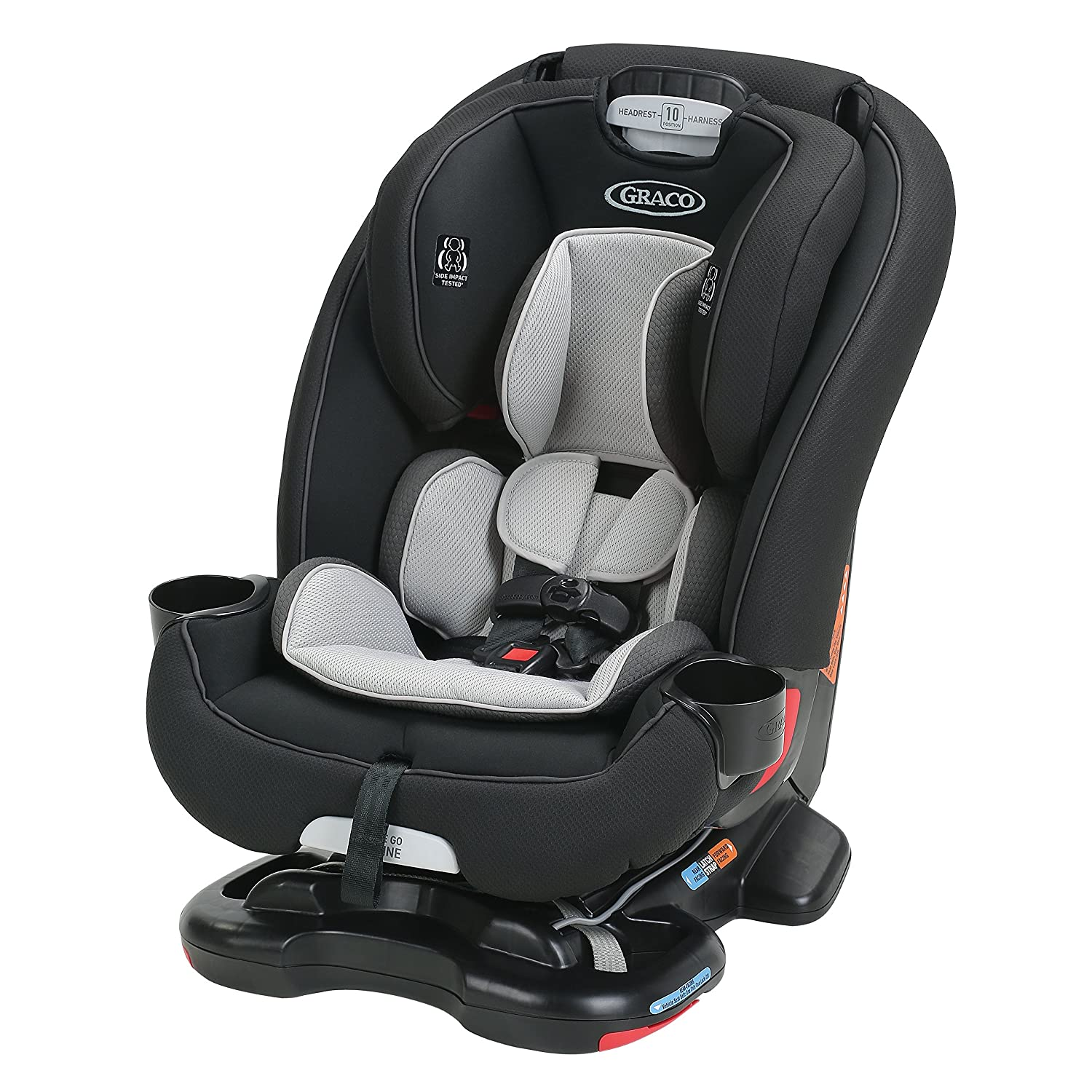 Amazon.com : Graco Recline N' Ride 3-in-1 Car Seat featuring On the ...
