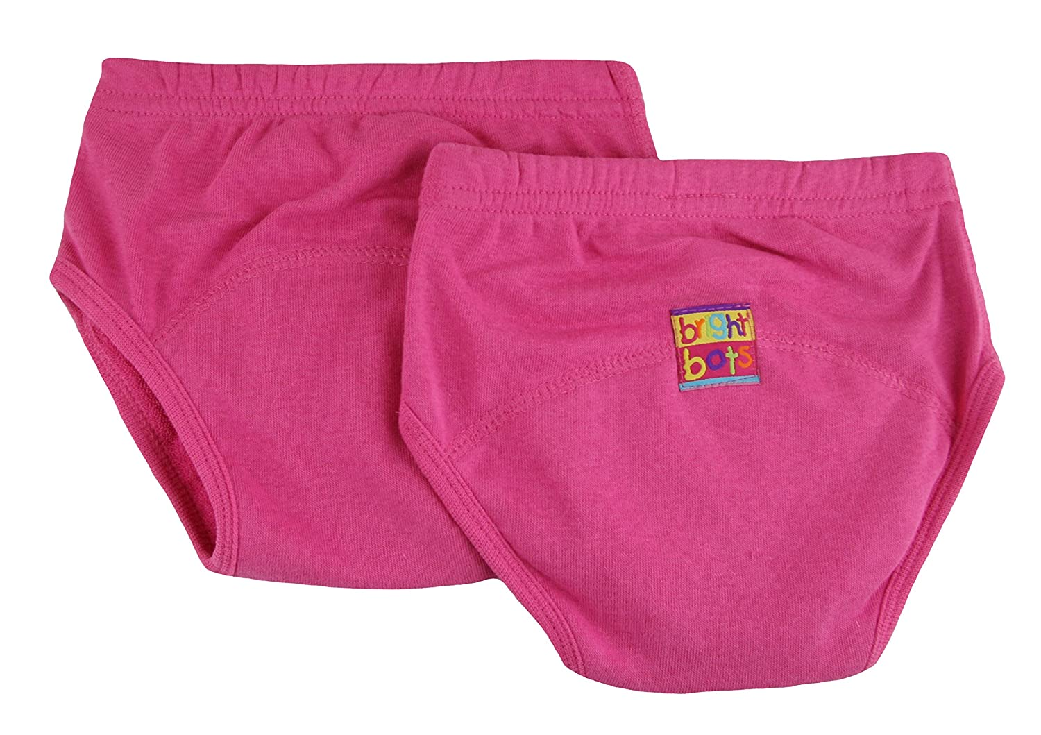 Bright Bots Potty Training Pants (Pack of 2, Pink, Small) 2AAETRA1-2US