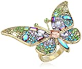 Betsey Johnson Womens Blooming Betsey Butterfly