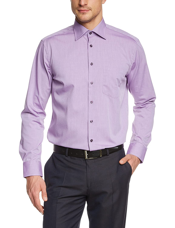 Seidensticker Men's Regular Fit Classic Long Sleeve Formal Shirt
