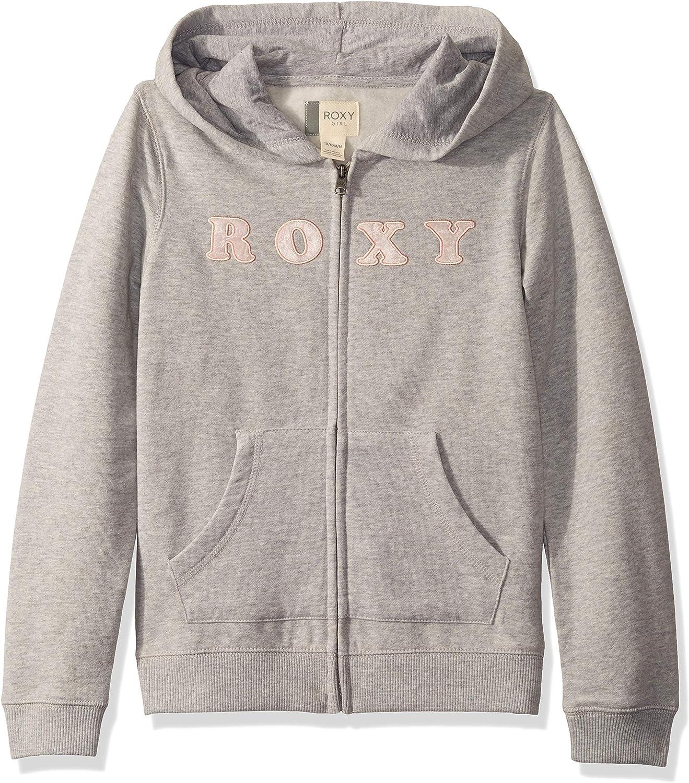 Roxy Girls Big First Began Zip Up Hoodie