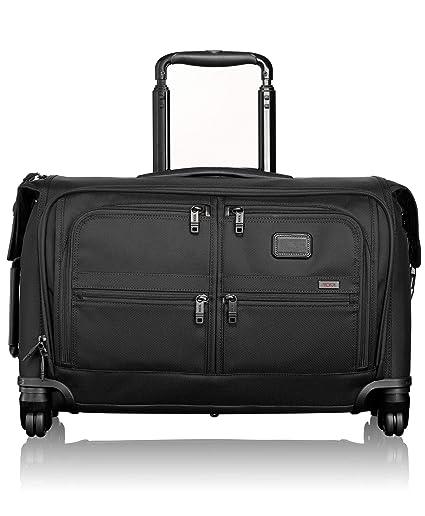 146e811f7 Tumi Alpha 2 Carry-on 4 Wheeled Garment Bag 24L, Black (Black) - 022038:  Amazon.co.uk: Luggage