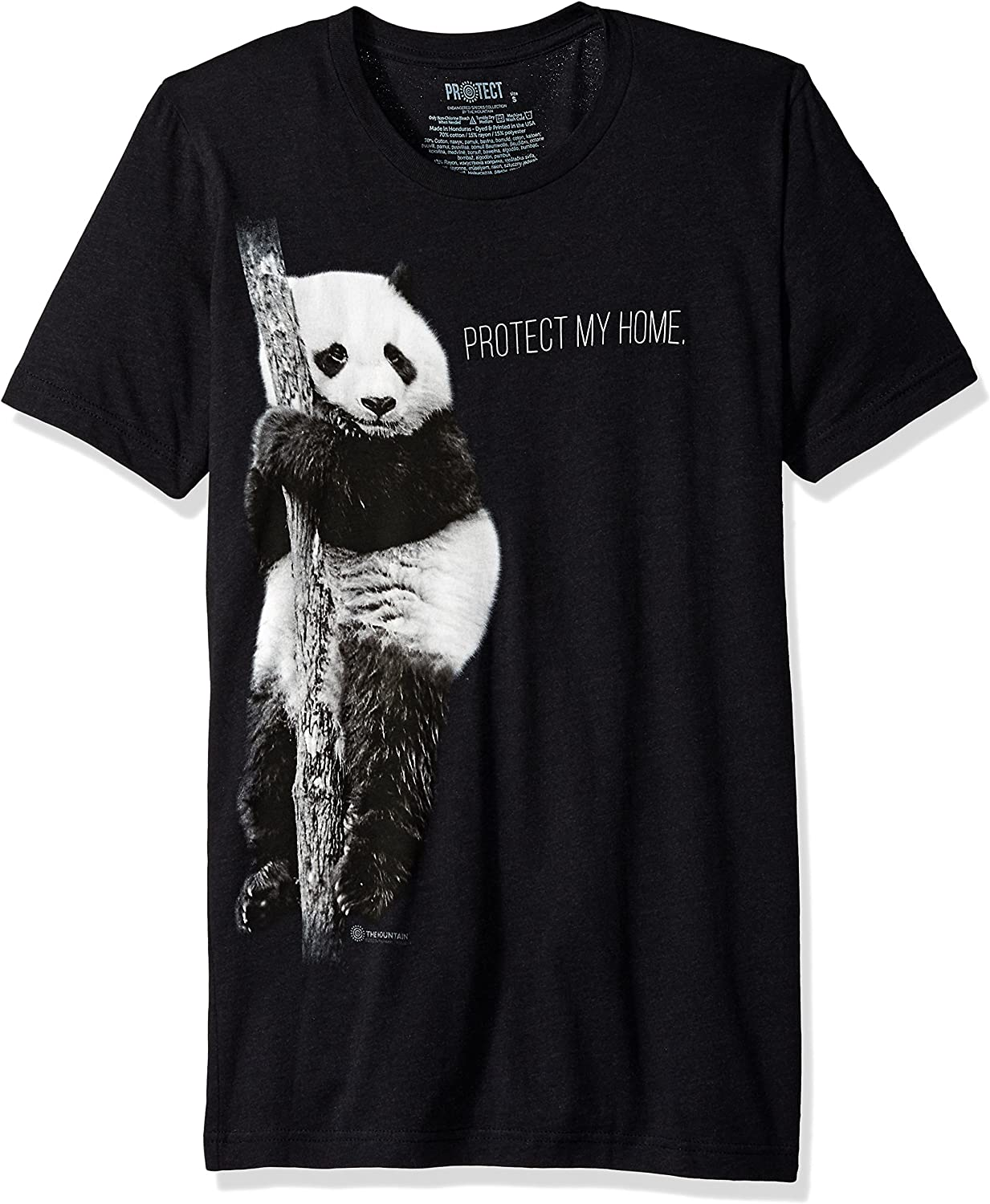 The Mountain Men's Wildlife, Protect Panda's Home T-Shirt
