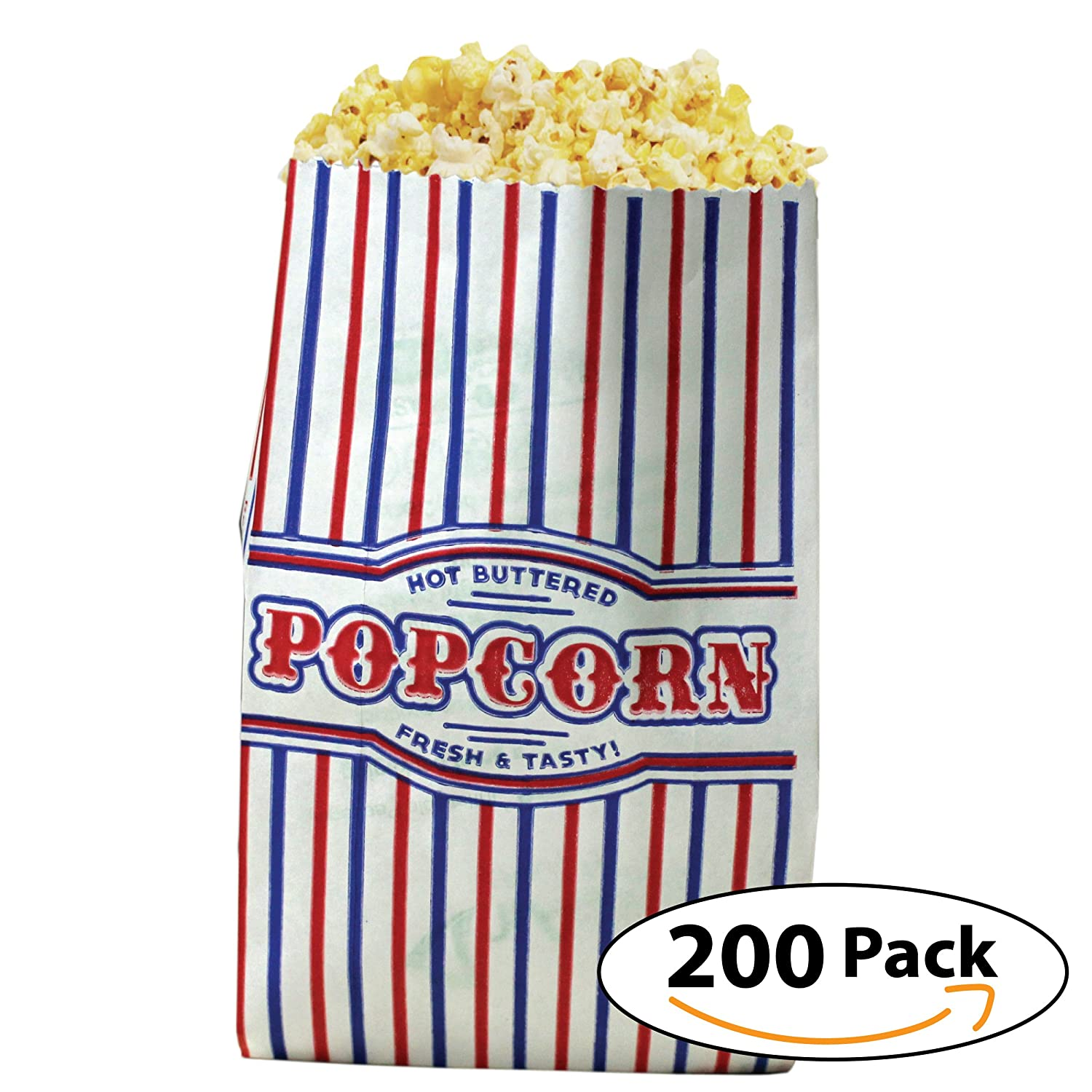 Popcorn Bags Small Size (1oz) Case of 200 Count - by Carnival Canada