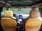 Car Organizer Mesh Pocket Storage and Pet Barrier - between seats Center Console Adjustable Universal fit vehicles, Seat Back Net Bag, kids Backseat, Phone, Tissue, Purse, Cargo Holder, Truck
