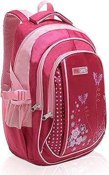 """15/"""" Kids Colorful Butterflies Backpack Pre School Toddler Book Bag Preschool"""