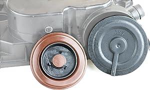 RKX - 2.5L UPGRADED PCV VALVE COVER REPAIR KIT replacement for VW 07K103469L Mk5 Mk6