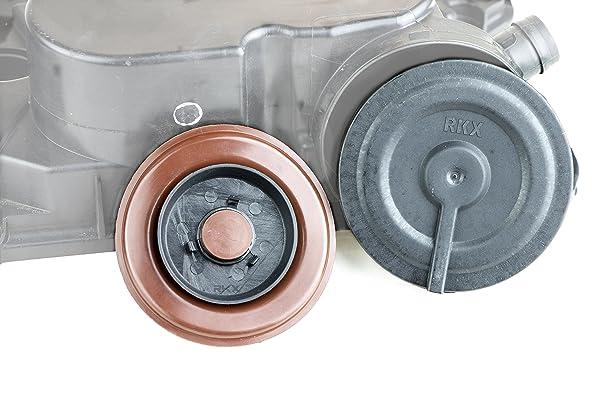 RKX - 2.5L UPGRADED PCV VALVE COVER REPAIR KIT For VW 07K103469L Mk5 Mk6