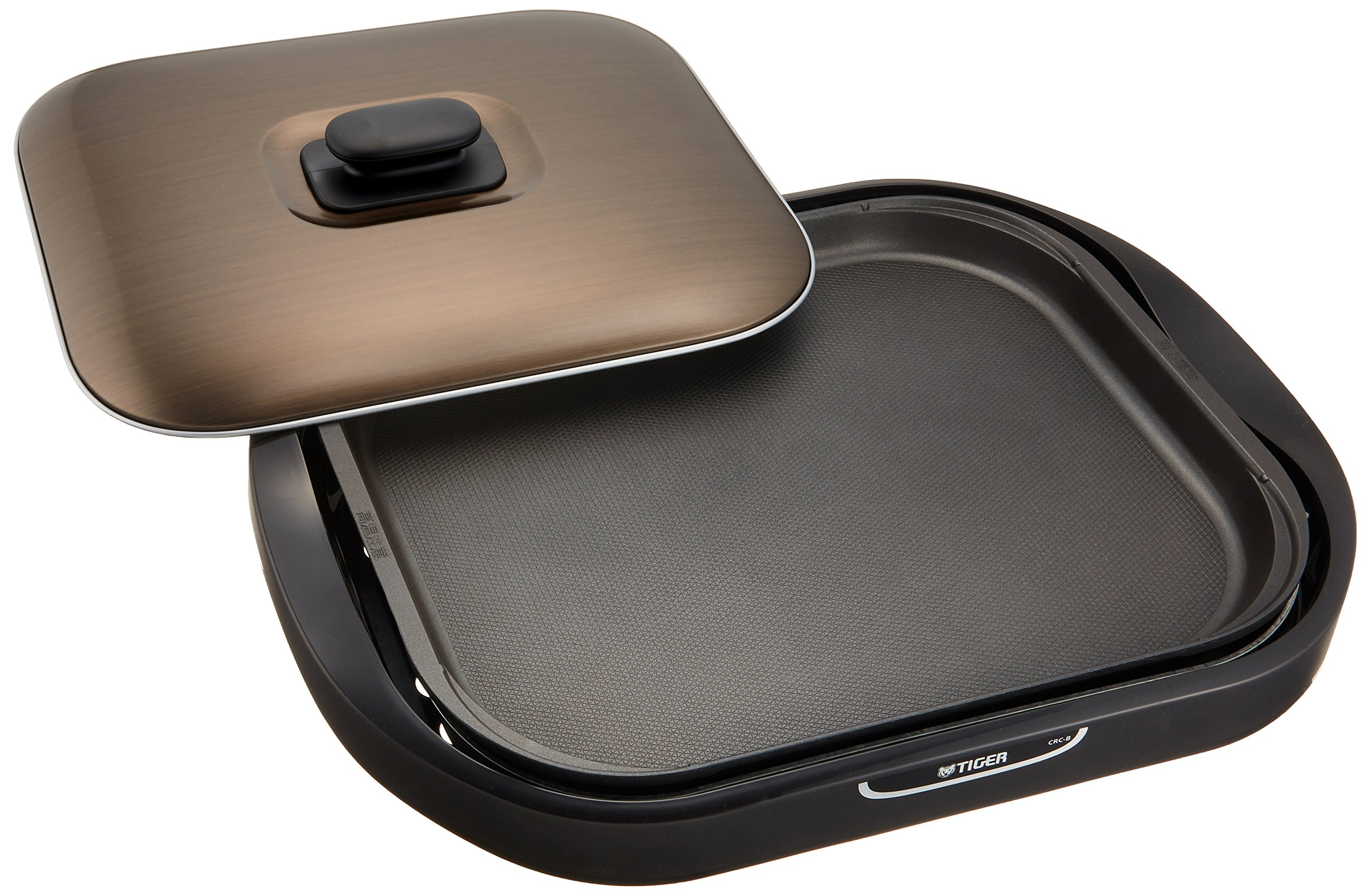 TIGER hot plate one type Brown CRC-B100-T