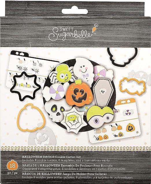 AMC Sugarbelle Cookie Cutter Set Halloween Basics: Amazon.es ...