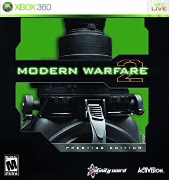 Amazon Com Call Of Duty Modern Warfare 2 Prestige Edition Xbox