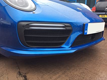 Porsche Carrera 991.2 Turbo And Turbo S - Full Grille Set (ACC) - Black