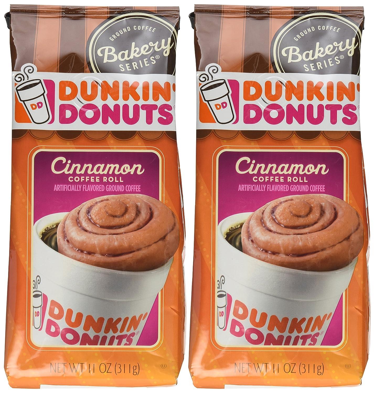 Dunkin Donuts Bakery Series, Cinnamon Coffee Roll Ground ...