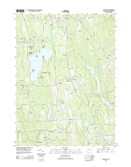Amazon.com: Topographic Map Poster - Litchfield, CT TNM GEOPDF 7.5X7 ...