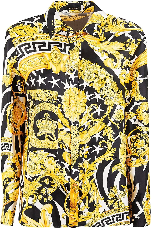 Versace A82662A231030A7900 - Camisa para mujer (seda dorada ...