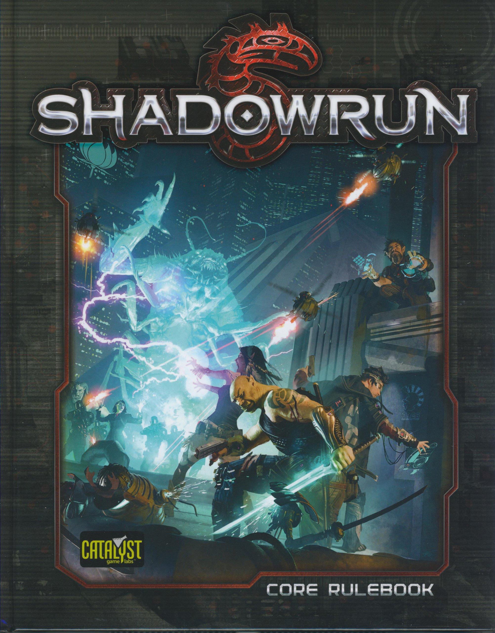 Shadowrun Core Rulebook: Amazon.co.uk: Catalyst Game L: 9781936876518: Books