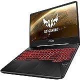 Asus TUF FX505GD-BQ138T Gaming Laptop -Intel Core i7-8750H, 15.6-Inch FHD, 1TB + 128GB SSD, 16GB, 4GB VGA-GTX1050, Eng-Arb-KB, Windows 10, Black