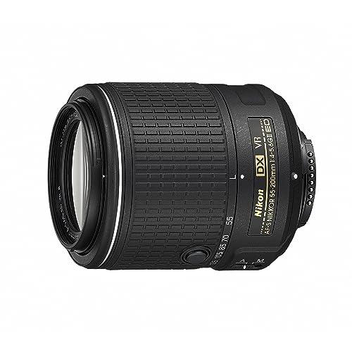 Nikon 55-200 mm/F 4,0-5,6 AF-S DX G ED VR II 55 mm Lens