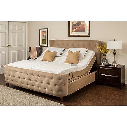 Split cal king mattress size