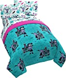 Jay Franco Disney Vampirina 4 Piece Twin Bed Set - Includes Comforter & Sheet Set - Super Soft Fade Resistant Polyester…