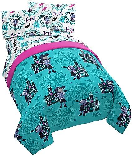 Amazon Com Jay Franco Disney Vampirina 4 Piece Twin Bed Set