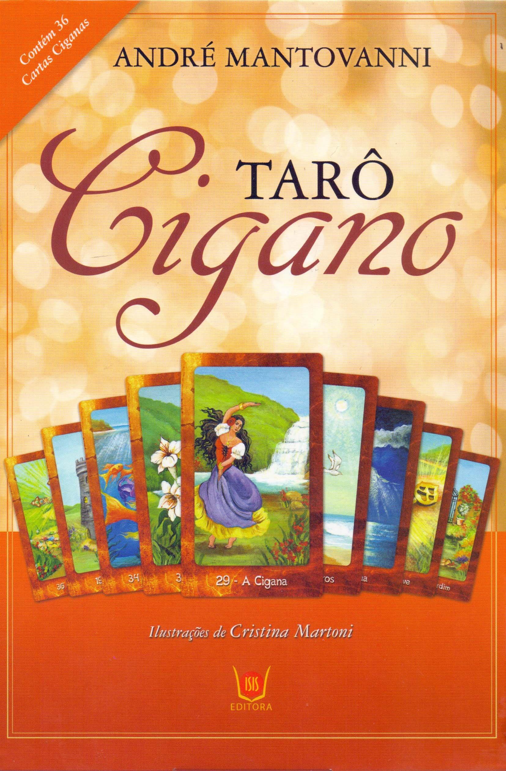 Taro Cigano - Livro e Baralho Com 36 Cartas: ANDRÉ ...