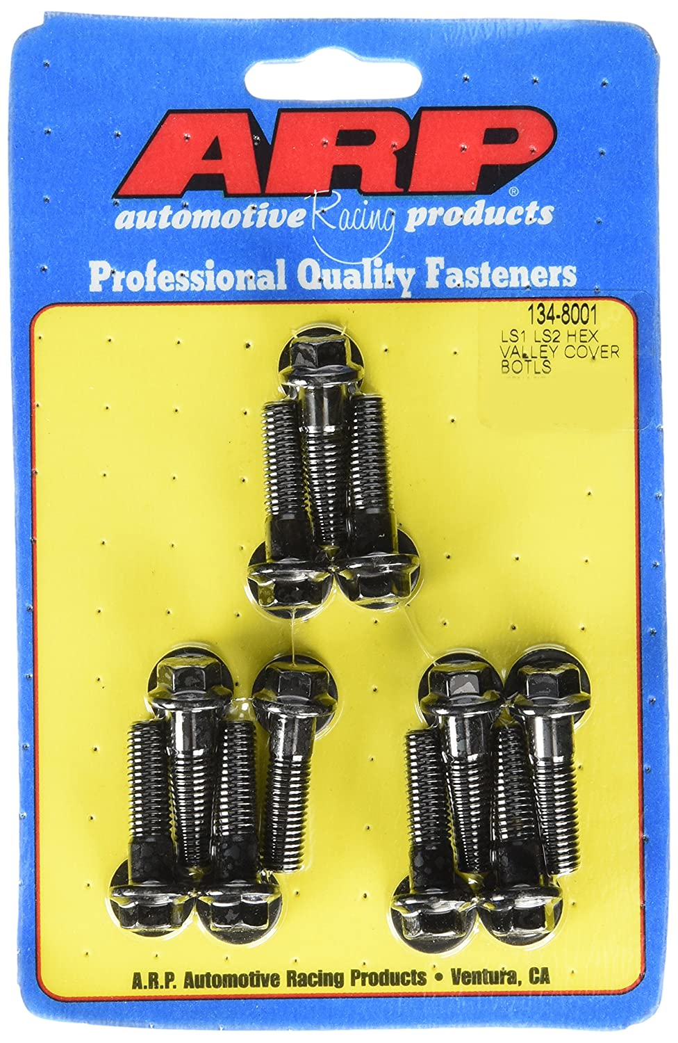 ARP 134-8001 6-Point Valley Cover Bolt Kit Chevy LS1//LS2
