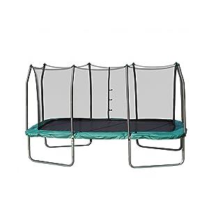 Skywalker Trampolines Rectangle Trampoline with Enclosure Net