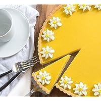 """Lemon Flower Tart 10"""""""