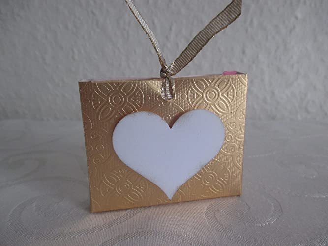 Gastgeschenk Tischkarte Goldene Hochzeit Amazonde