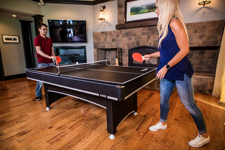 Amazon.com : Triumph Phoenix 7u0027 Billiard Table With Table Tennis Conversion  Top : Sports U0026 Outdoors