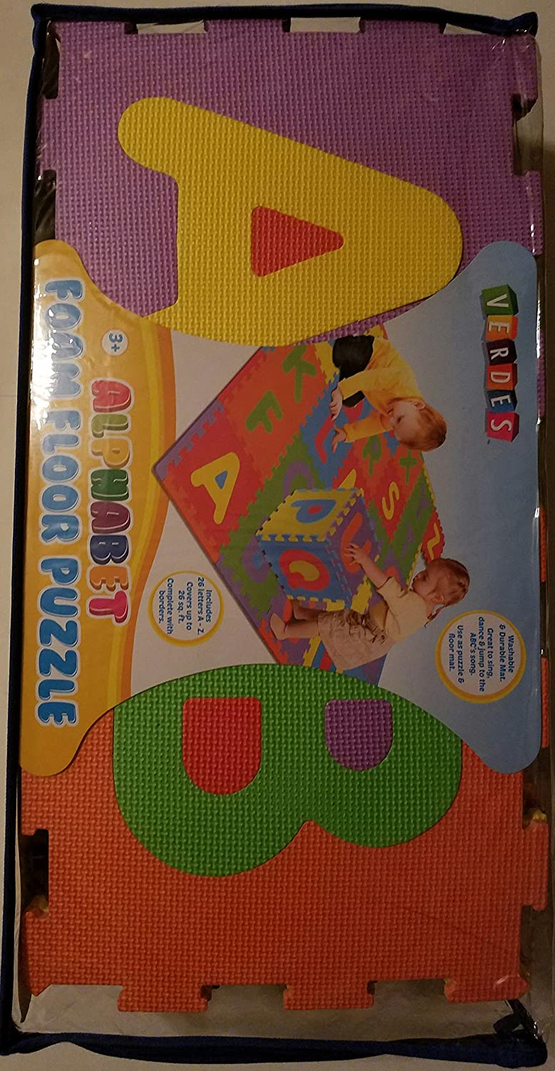 Verdes 12 Alphabet Foam Play Mat