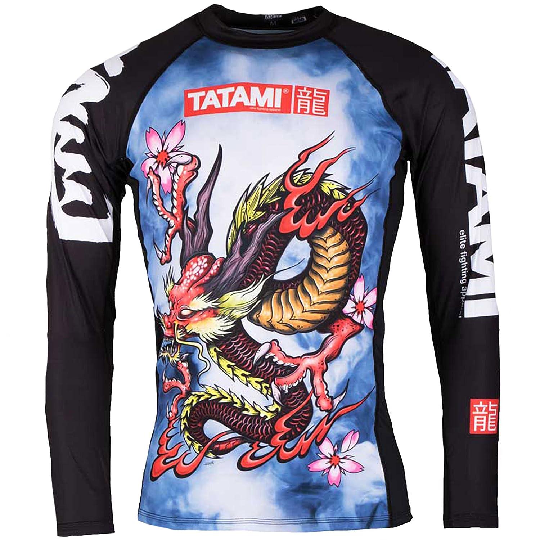 Tatami Fightwear Oriental Dragon Long Sleeve Rash Guard drag-rg-2XL
