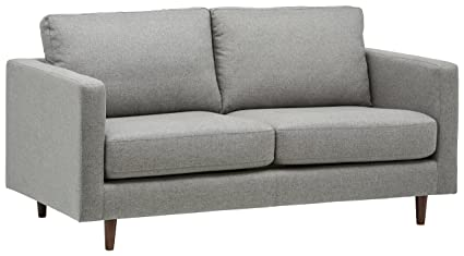 Amazoncom Rivet Revolve Modern Sofa Bed 70 W Grey Weave