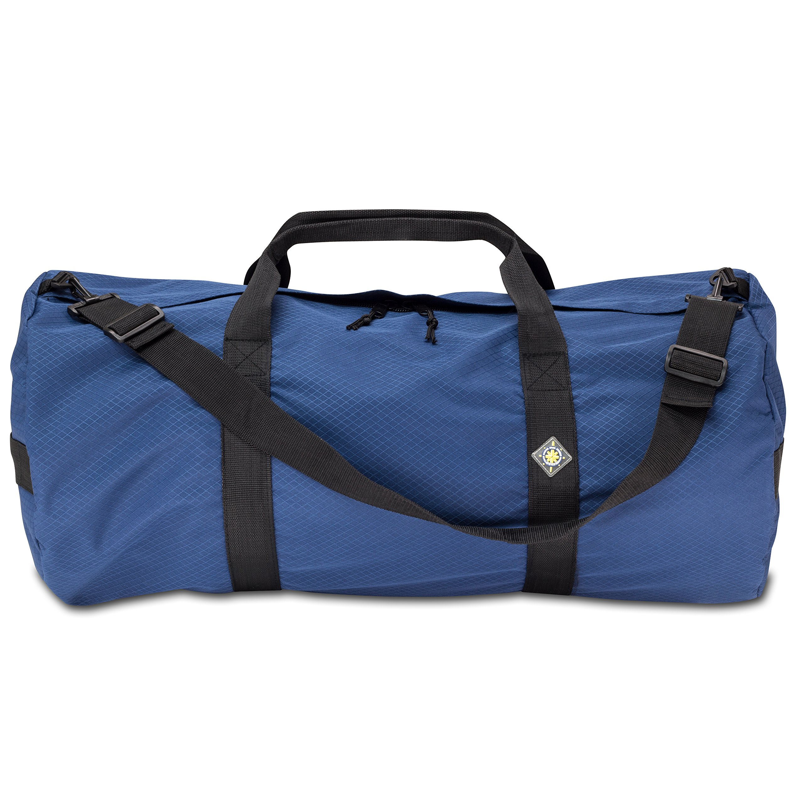 NorthStar Sports 1050 HD Tuff Cloth Diamond Ripstop Series Gear and Duffle Bag, 14 x 30-Inch, Pacific Blue