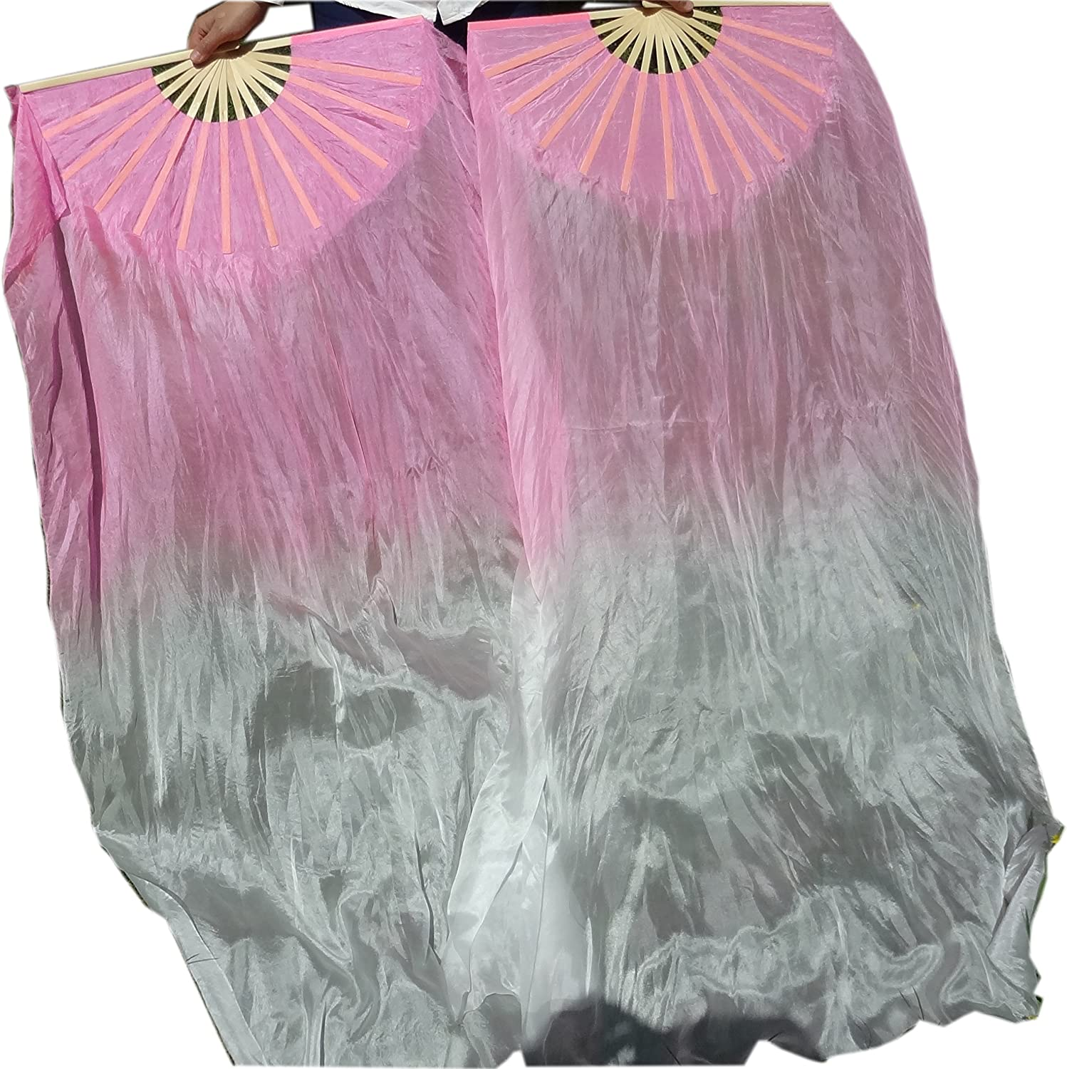 HAND MADE BELLY DANCE 100/% SILK VEILS  five colors veils FREE SHIPPING BAG