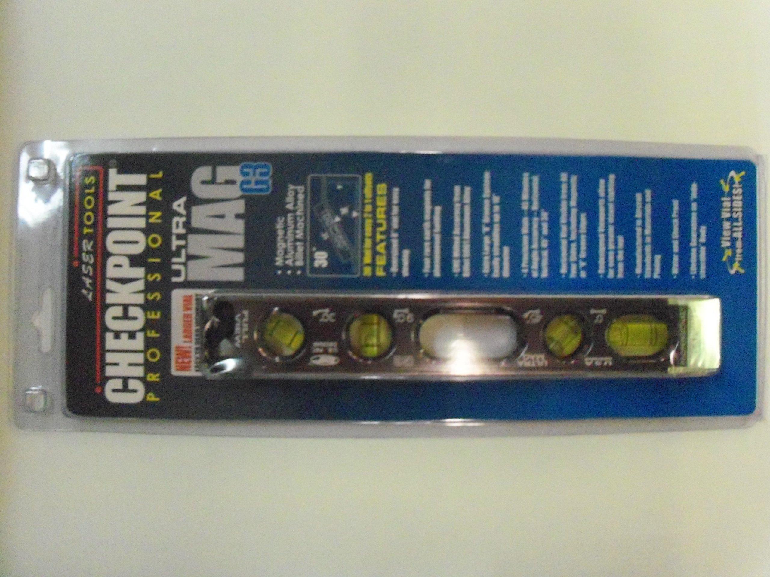 Checkpoint Ultra Mag G3 Professional Torpedo Level Platinum (# 300 )
